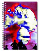 Thermonuclear Detonation Spiral Notebook