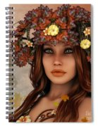 They Call Her Autumn Spiral Notebook