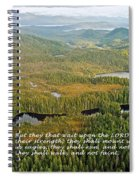 They That Wait 8995 Spiral Notebook