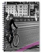 Think Pink Spiral Notebook