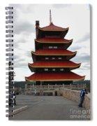 Thinking Biker Spiral Notebook