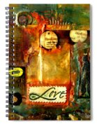 Thinking Of You With Love Spiral Notebook