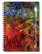 This Doll Loves Art Spiral Notebook