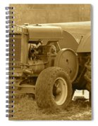 This Old Tractor Spiral Notebook