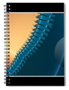 This Side Of The Moon Spiral Notebook
