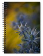 Thistles Motion Spiral Notebook