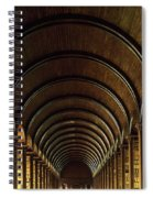 Thomas Burgh Library, Trinity College Spiral Notebook