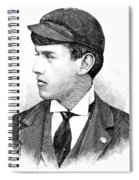 Thomas E. Burke Spiral Notebook