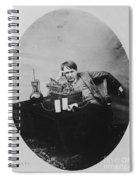 Thomas Edison, American Inventor Spiral Notebook