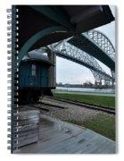 Thomas Edison Depot And Blue Water Bridges 2012 Spiral Notebook