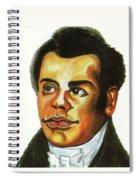 Thomas Freeman Spiral Notebook