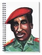 Thomas Sankara Spiral Notebook