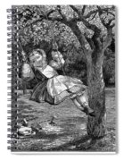 Thomas: The Swing, 1864 Spiral Notebook