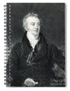 Thomas Young, English Polymath Spiral Notebook