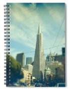 Those Sunny Downtown Days Spiral Notebook