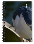 Thoughtful Bird Spiral Notebook