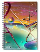 Thoughts And Threads Spiral Notebook