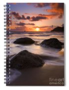 Three Against The Tide Spiral Notebook