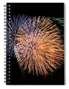 Three Bursts Of Fireworks Four July Two K Ten Spiral Notebook