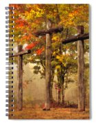 Three Crosses Spiral Notebook