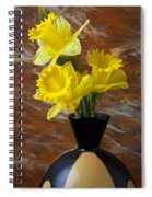Three Daffodils Spiral Notebook