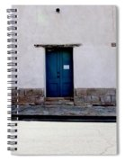 Three Doors And Two Windows Spiral Notebook