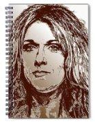 Three Interpretations Of Celine Dion Spiral Notebook