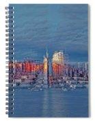 Three Times New York City Spiral Notebook