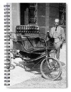 Three-wheel Automobile Spiral Notebook