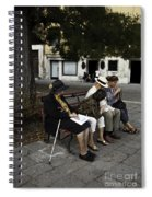 Three Women And The Man Spiral Notebook