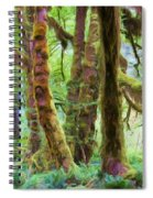 Through Moss Covered Trees Spiral Notebook