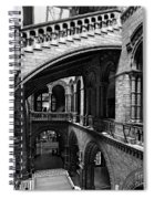 Through The Arches Spiral Notebook