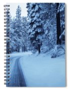 Through The Snow Spiral Notebook