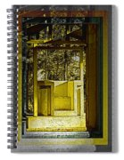 Through Time And Memory Spiral Notebook