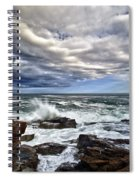 Thunder Hole Spiral Notebook