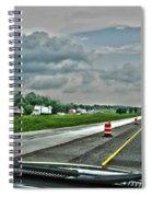 Thunder Road Spiral Notebook