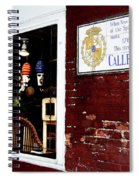 The Window On Calle Del Maine Spiral Notebook