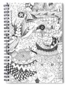 Tick Tack Toe With The Universe Spiral Notebook