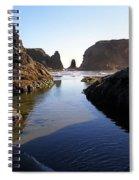 Tidepool Rocks Spiral Notebook