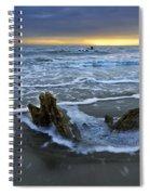 Tides At Driftwood Beach Spiral Notebook