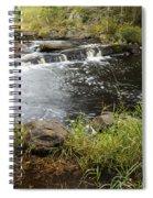 Tidga Creek Falls 2 Spiral Notebook