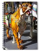 Tiger Carousel Ride Spiral Notebook