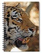 Tiger De Spiral Notebook