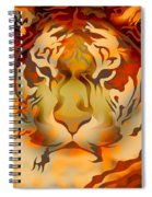 Tiger Illustration Spiral Notebook