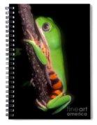 Tiger Leg Monkey Frog Spiral Notebook
