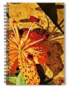 Tiger Lily Still Life  Spiral Notebook
