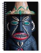 Tiki Mon Spiral Notebook