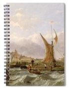 Tilbury Fort - Wind Against The Tide Spiral Notebook