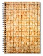 Tiled Wall Spiral Notebook