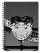 Tillie's Scream Zone In Black And White Spiral Notebook
